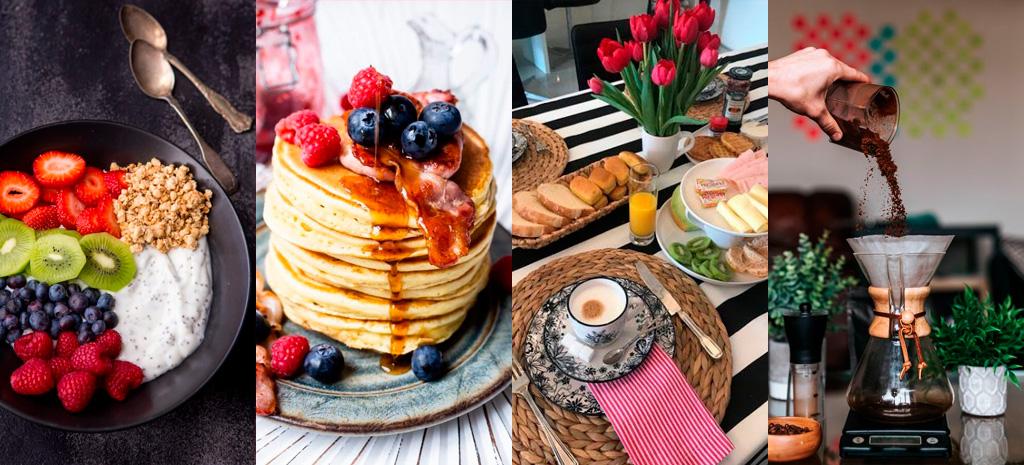 Ideias café da manhã para o dia das mães