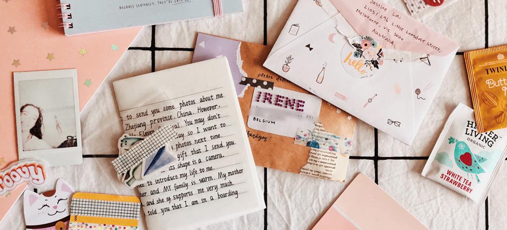 Carta escrita à mão