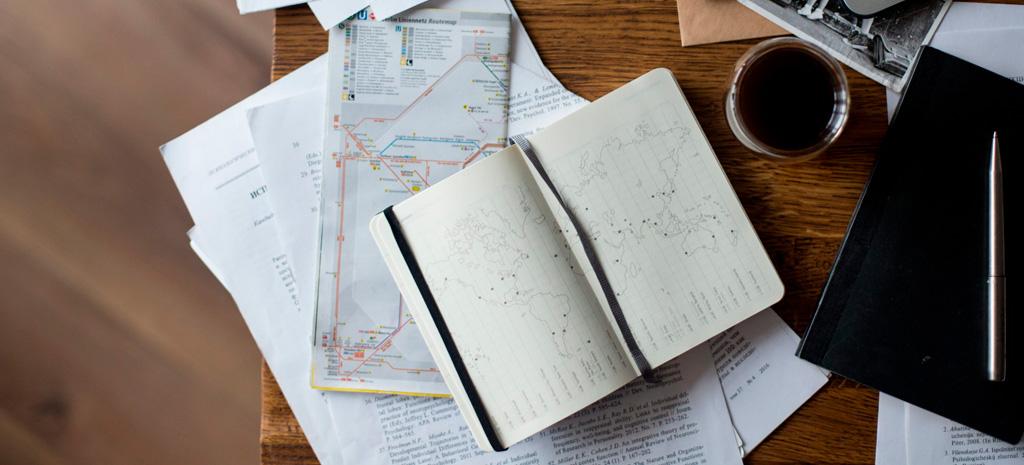 Planejar a próxima viagem