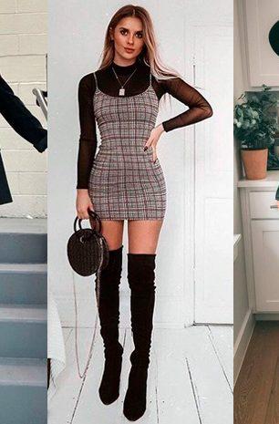 Como usar seu vestido de verão também no inverno!
